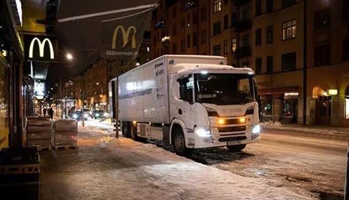 斯堪尼亚推出新一代混合动力卡车 静音电力模式行驶10公里