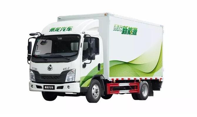 东风柳汽将乘龙L2EV电动轻卡交给柳州市政部门免费试用