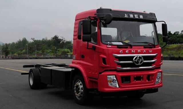上汽红岩即将推出纯电动卡车及电动载货车底盘