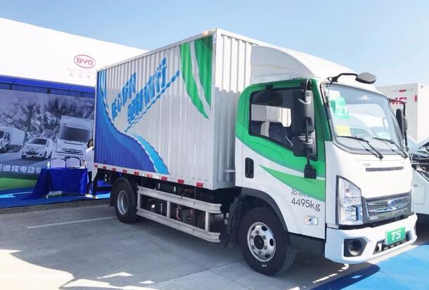 200辆比亚迪电动卡车签约澳洲运营商