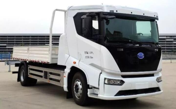 比亚迪电动卡车|比亚迪电动牵引车和比亚迪电动物流车将推出