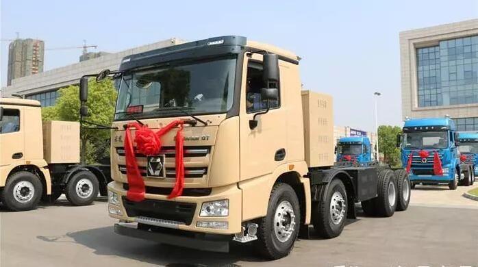 100辆徐工漢風G7纯电动渣土车交付 续航里程305km