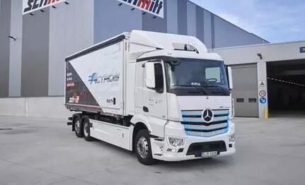 宁德时代与戴姆勒卡客车公司签订电动卡车全球动力电池采购协议