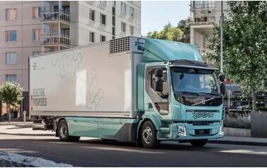 沃尔沃电动卡车已在欧洲开始销售  最大续航300公里