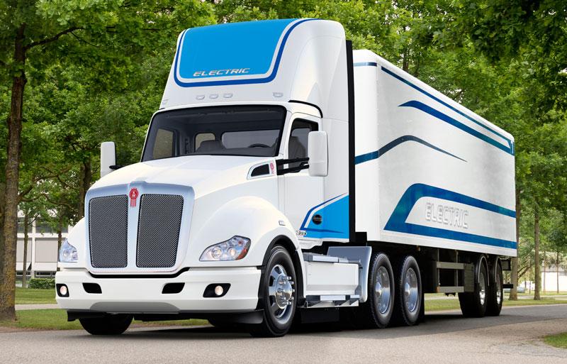 肯沃思将推出首款电动8级卡车T680E 2021年投产|续航240KM