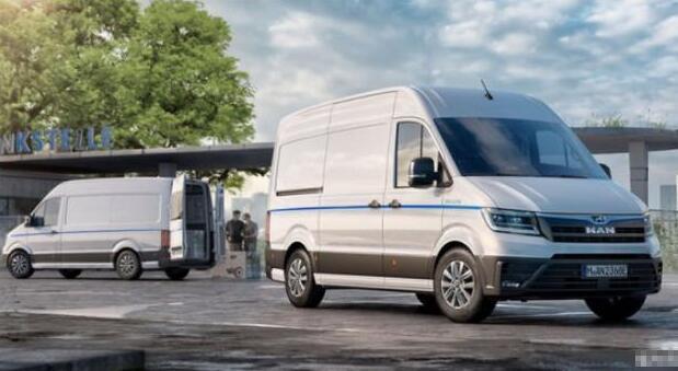 大众旗下MAN正式推出电动厢式货车eTGE 续航160公里