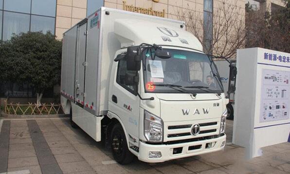 奥驰A2纯电动卡车续航210km 缔途EX电动物流车续航220KM