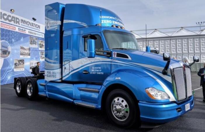 丰田发布氢能源卡车 续航480km|5分钟可完成氢气加注操作