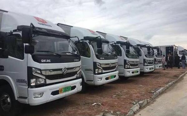 氢松用车旗下深圳宏旭新能源汽车600辆氢燃料电池卡车投入运营