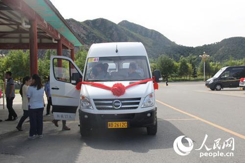 清东陵文物保护新举措 新能源纯电动观光车全覆盖