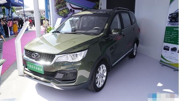 中稷铭洋SUV电动汽车续航500公里2017年7月上市 补助后报价20万
