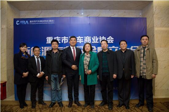 重庆市汽车商业协会新能源分会成立
