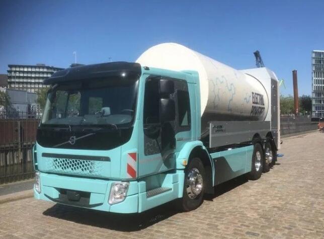 沃尔沃电动卡车FE暨沃尔沃电动环卫车将推出 续航300公里