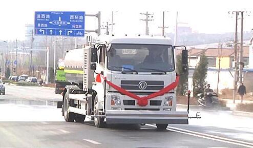 27台中联电动环卫车交付晋城城区环卫局