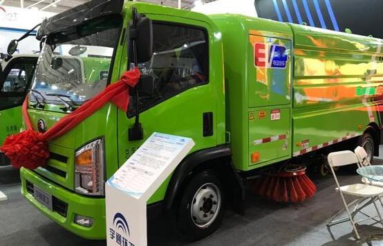 5款宇通电动环卫车亮相2019中国国际环卫与市政清洗设备展