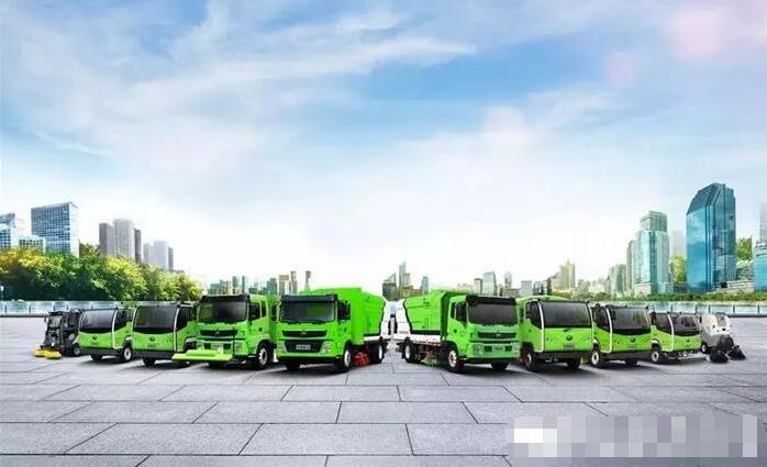 14辆宇通电动环卫车交付安徽亳州利辛县城关镇