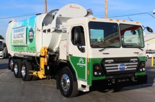 美国加州引入3台比亚迪新一代纯电动环卫车