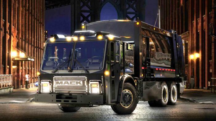 沃尔沃商用车旗下美国卡车品牌—马克将推出电动环卫车