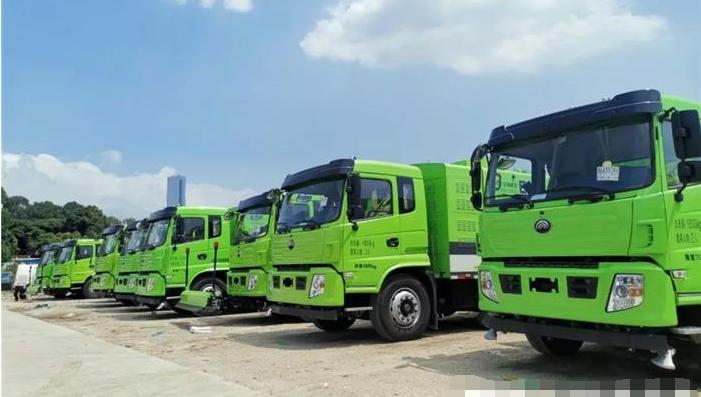 宇通电动环卫车交付深圳总数达220辆 含W18电动洗扫车等车型
