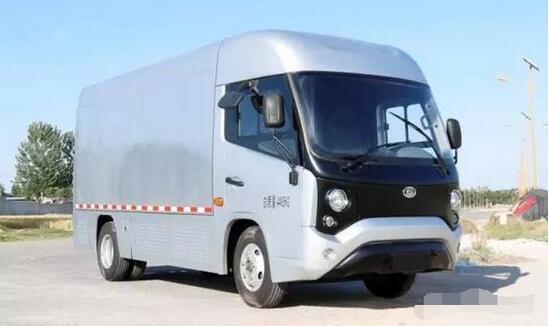 中通客车打造出首款全铝车身厢式纯电物流车 每公里耗电0.25度
