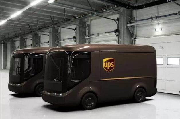 UPS和英国公司Arrival合作将2018年底前部署35辆电动物流车