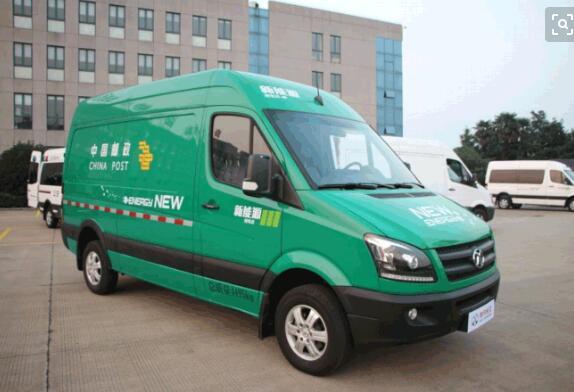 中国邮政车将全部改用电动物流车