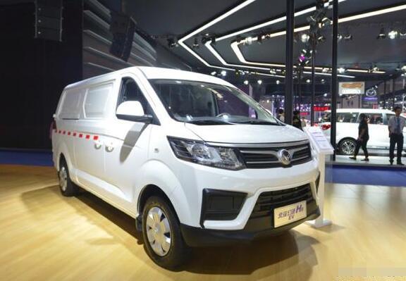 北汽幻速纯电动物流车H6EV在2018重庆车展上市 续航310KM