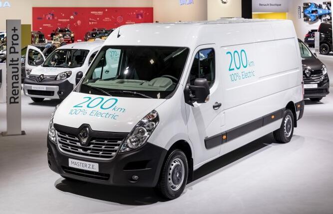 华晨雷诺厢式货车Z.E.纯电动版本将2020年引入并投产