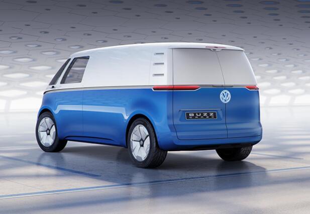 大众I.D.BUZZ电动物流车将亮相2018德国汉诺威商用车展
