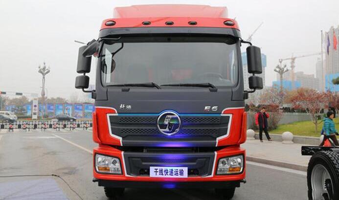 陕汽推出7.75米电动物流车轩德E6 满载18吨|续航200公里
