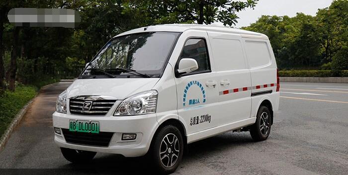 泰新V10纯电动物流车销售韩国  3.5m³货厢|续航350km