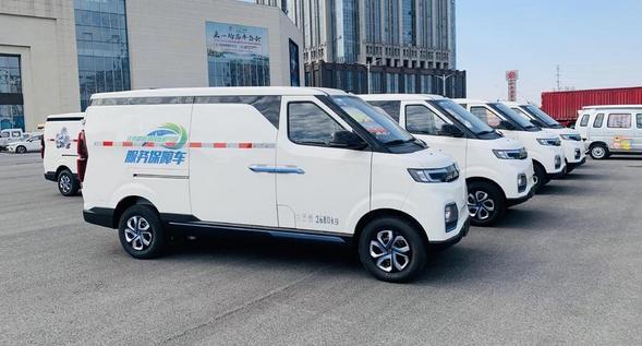 北汽昌河旗下电动物流车北汽EV5等亮相2019鄱阳湖国际观鸟周